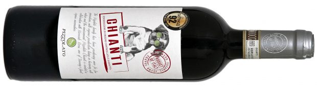 Pizzolato Chianti 90 point organic wines