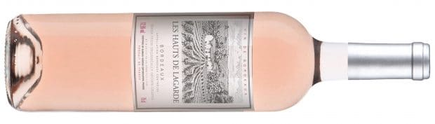 Les Hauts de Lagarde Rosé Bottle