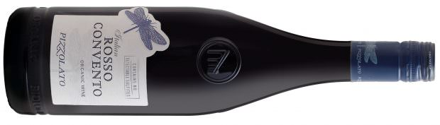 Pizzolato No Sulfites Added Rosso Convento Cabernet/Merlot Italian Red Blend - available in Whole Foods stores nationwide
