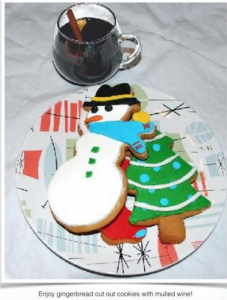 Spartico Mulled Wine and Cookies