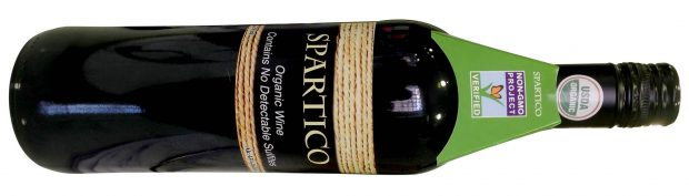 Spartico Organic Tempranillo Cabernet Must-Have Wines for 2018 and 2019