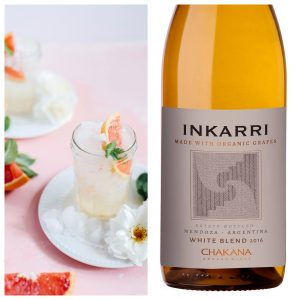 organic wine cocktails Inkarri white blend