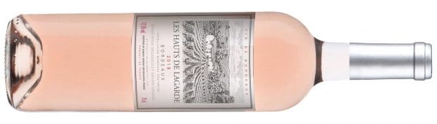 Les Hauts de Lagarde Bordeaux Rose Sugar Free Wine