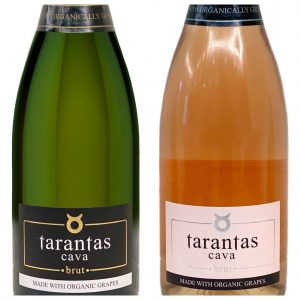 Tarantas Organic Cava, White and Rose