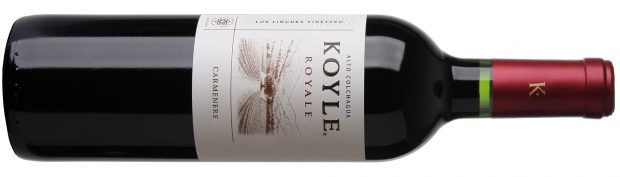 90 point wine Koyle Royale Carmenere