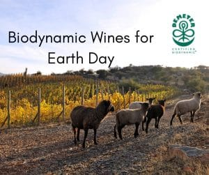 Biodynamic wines for Earth Day