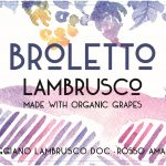 New Organic Lambrusco