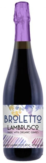 Broletto Lambrusco Bottle