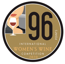 International Women's Wine Competition 96 Points