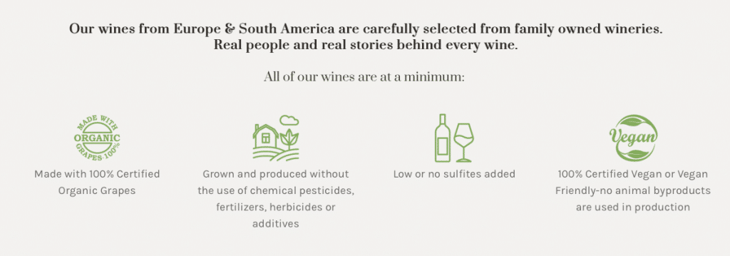 Our Organic Wine are Clean Wine