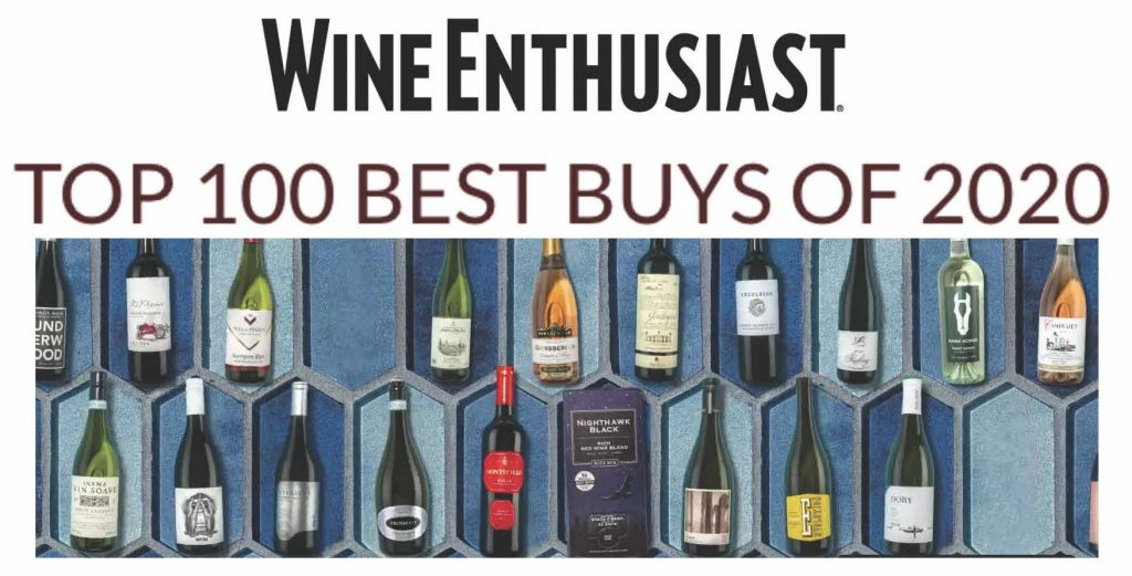 Wine Enthusiast Top 100 Best Buys 2020