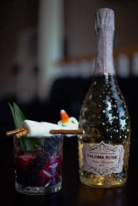 """Frosty on Vacation with Pizzolato """"Paloma Rose"""" Rose Secco"""