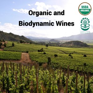 Organic and Biodynamic Wines