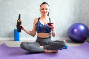 Yoga Wine Biohacking