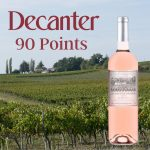 90 Point French Organic Rosé