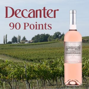 90 Point French Organic Rose